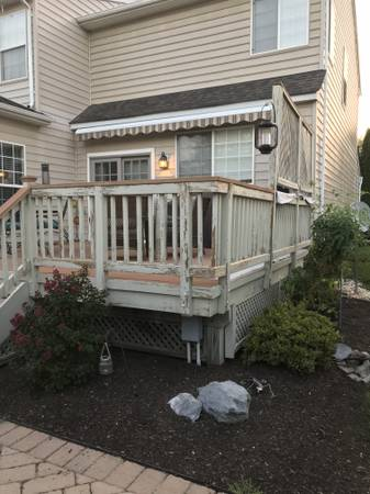 Residential Deck Repair & Improvements
