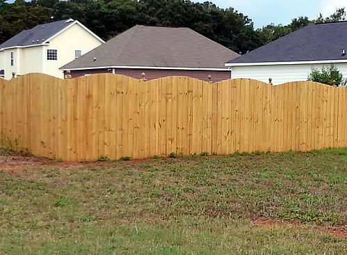 All Styles Fence Installed