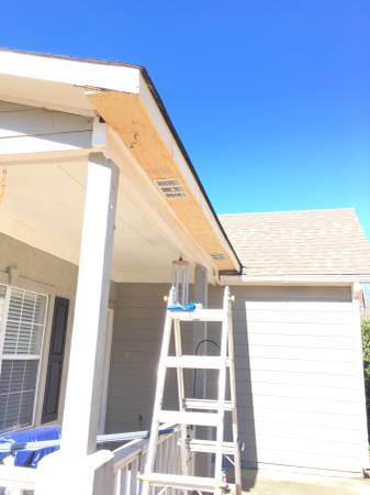 Soffit + Fascia Replacement - Repair