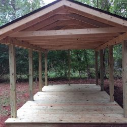 Newly Constructed Outdoor Pavilion - Jacksonville, TX