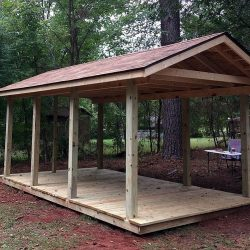 Outdoor Pavilion to Shed
