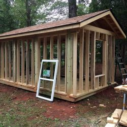 Outdoor Pavilion to Shed Renovation - Jacksonville, TX