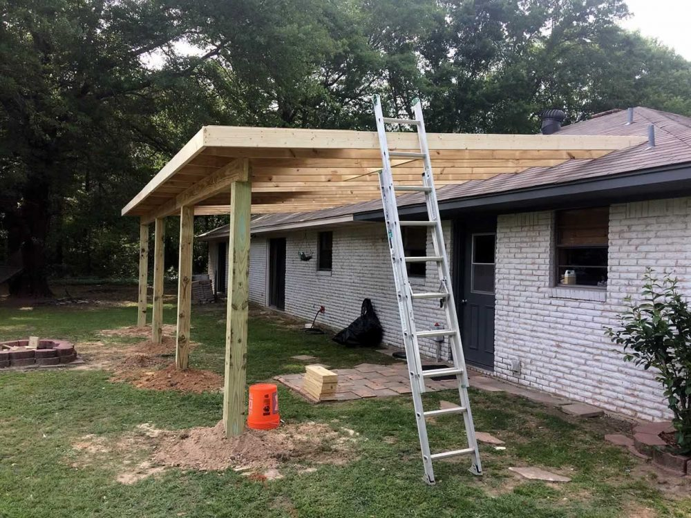 Diana TX Porch Roof Addition