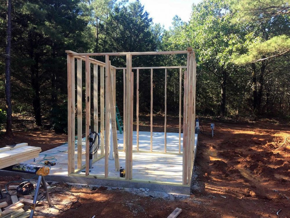 Lindale TX 75771 - Pump House Construction