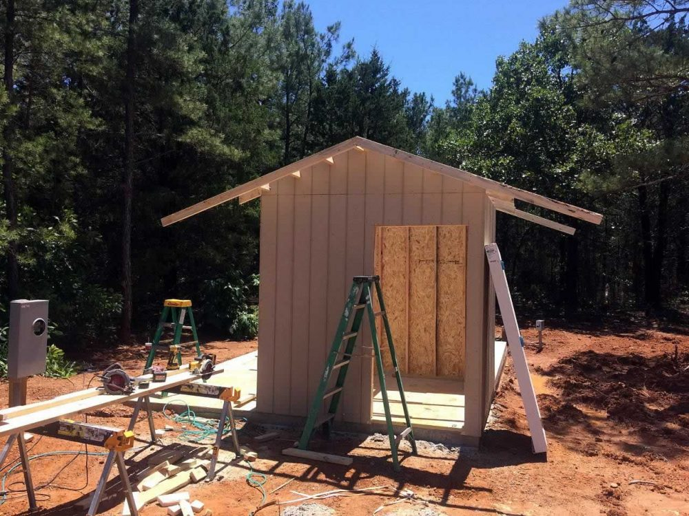 Lindale TX 75771 - Pump House Construction 2