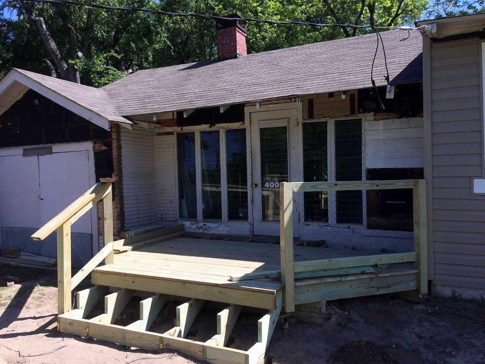 Longview TX 75605 - Front Porch Addition