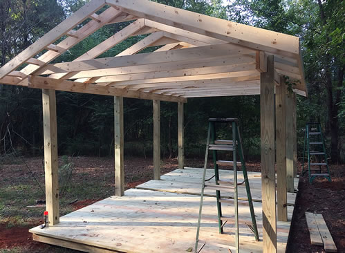 Outdoor Shed Renovation