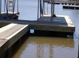 Lakefront Dock Repair